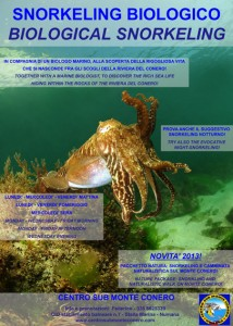 locandina snorkeling 2013